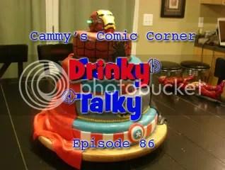 Cammy's Comic Corner – Drinky Talky – Episode 86