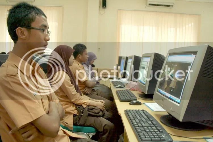 Peserta siswa/i SMA Banda Aceh