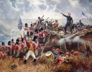 Battle of New Orleans historical painting