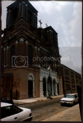 New Orleans' Irish Channel hosts the St. Alphonsus Church.