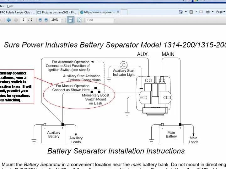 Noco Battery Isolator Manual