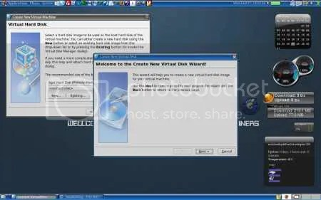 Gb.1. setting Hardisk Virtual Machine