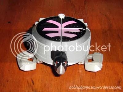 shinkenpinks origami in beast form (turtle)