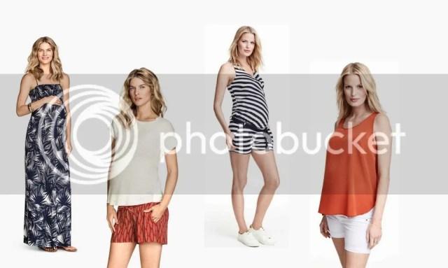 ropa premama bonita y barata para verano h&m