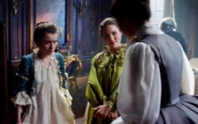 Mary Hawkins, Louise de Rohan, and Claire