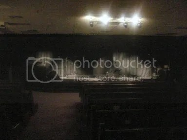 stage lit