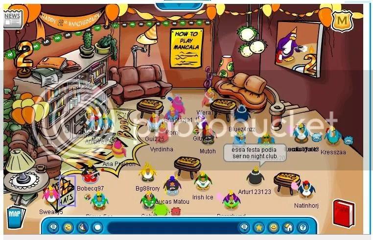 Book Room com a festa