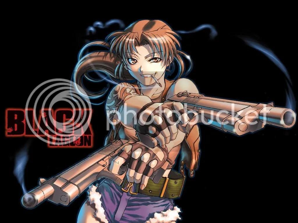 Black Lagoon - Revy Wallpaper