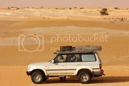 El HDJ de Adolfo en Mauritania