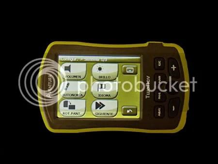 Botones e iconos se pulsan con facilidad.