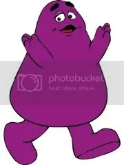 I still dont know what Grimace is.