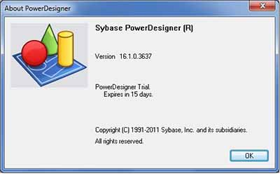 Sybase PowerDesigner 16.1.0.3637
