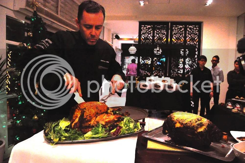 Roast Turkey & Baked Ham.