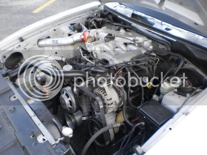 38l V6 Mustang Turbo Kit