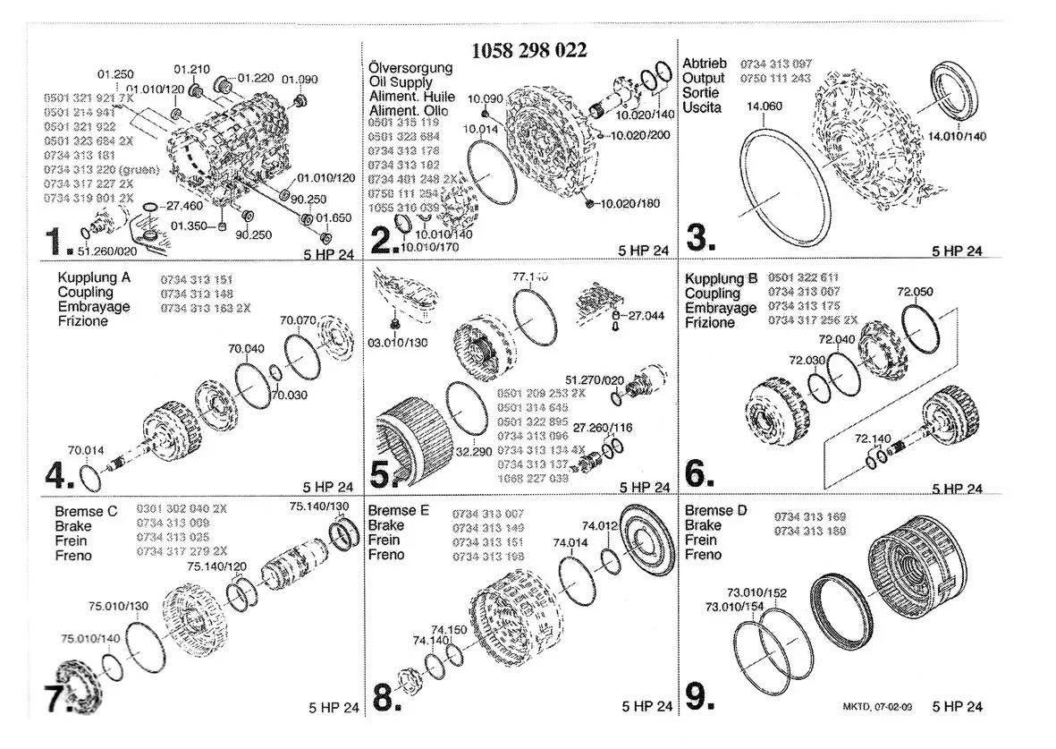Transmission Rebuilding Zf 5hp24 Advice Need It