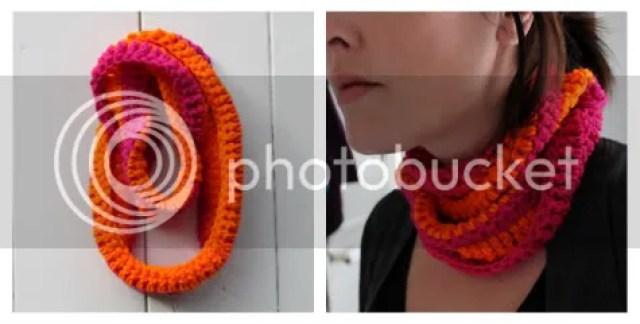 Uncinetto Facile Sciarpa Collana In Cotone Per Lestate