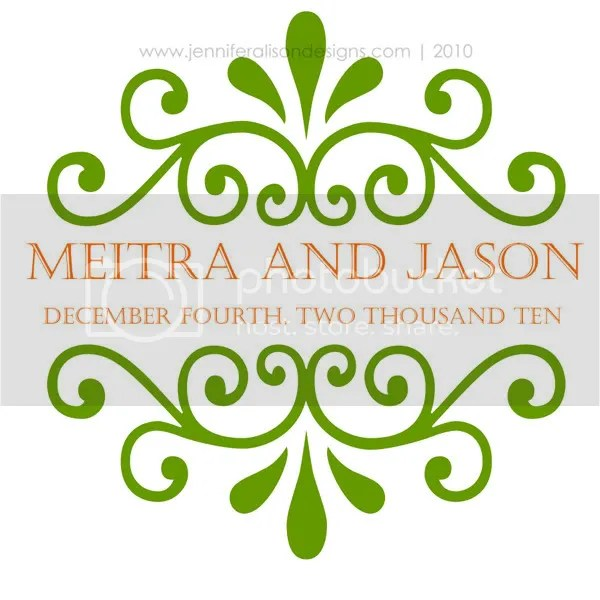 wedding monogram for meitra jason wedding monogram design