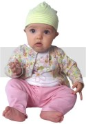 Zutano Baby clothing range. Bright and funky