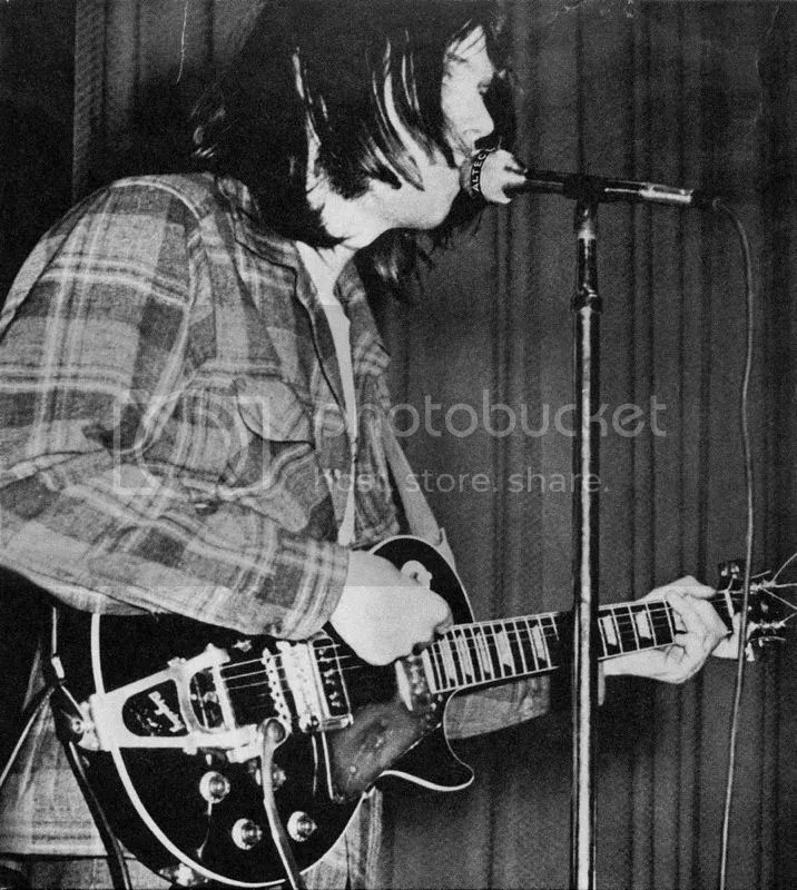 Neil Young with his 1953 Gibson back in 1969