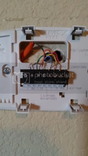 Replacing a Goodman Janitrol HPT 1860 Thermostat  Page 2