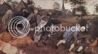 Cego Guiando Cegos de Pieter  Brueghel