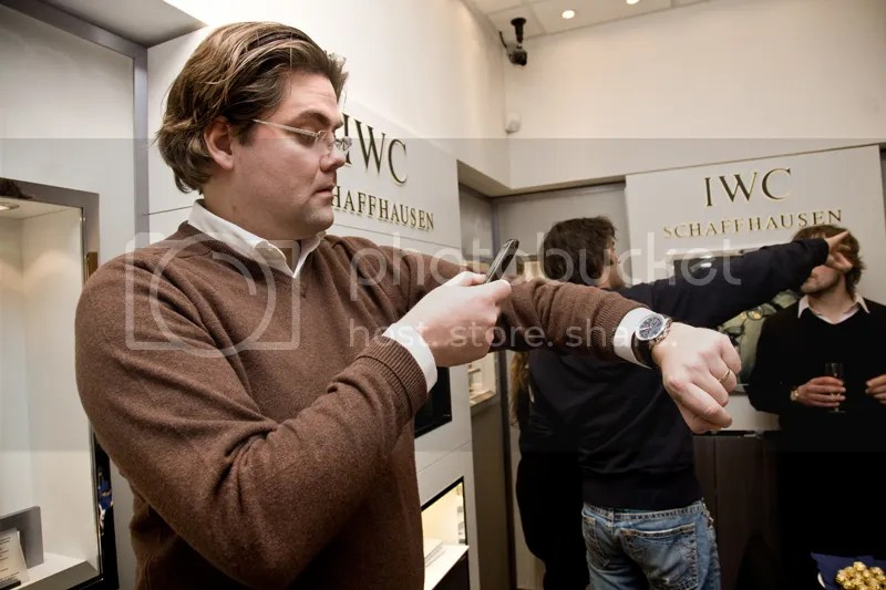 Ian McCurdy is Twittering about the newest IWC watches.