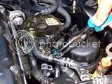 VW Passat schimbare filtru motorina - changing fuel filter