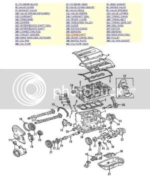 18T Engine Diagram