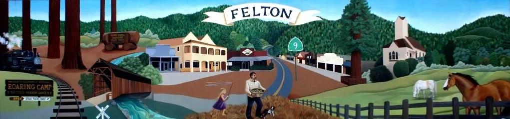 Felton Wall Mural