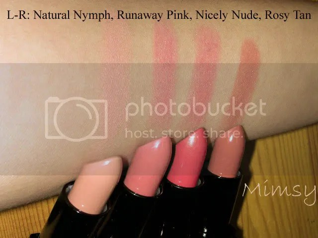 ELF Mineral Lipsticks