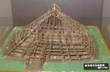 LateJomondwellingframework.jpg Building of a Late Jomon pit house picture by Heritageofjapan