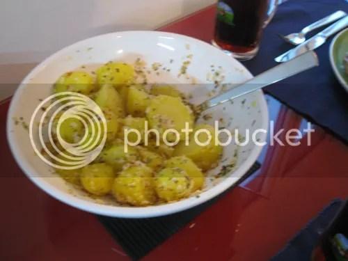 Salzkartoffeln mit Pepp