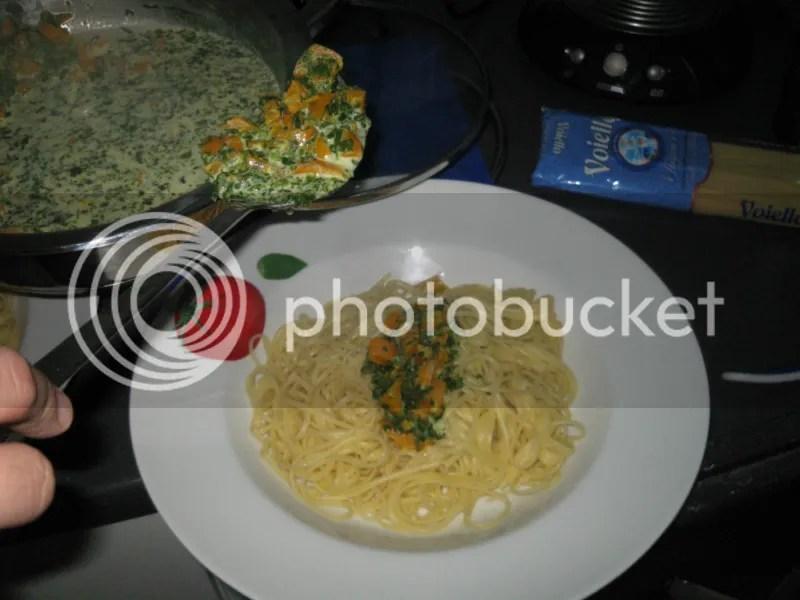 Zitronen Spaghetti