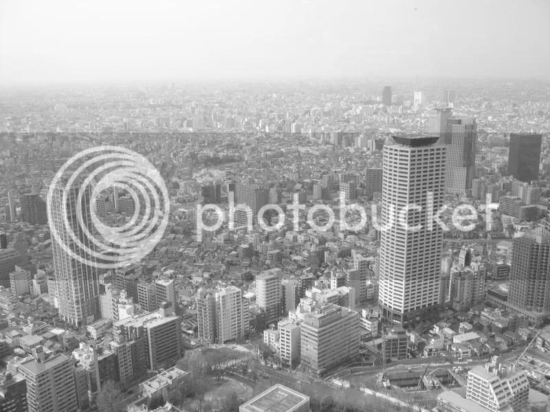 Ausblick Tokyo Tower