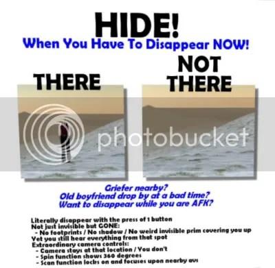 Quick! Hide!