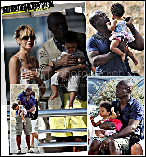 Lou Sulola Samuel Out & About With Her Family