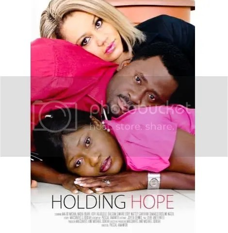 holding hope poster