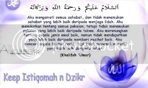 Pesan Khalifah Umar