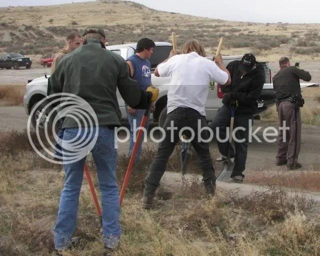 Photos: The Slab AKA Ranksville ORV Rules Sign Placement Run 130