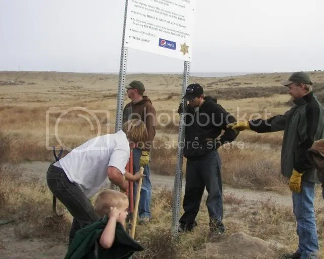 Photos: The Slab AKA Ranksville ORV Rules Sign Placement Run 135