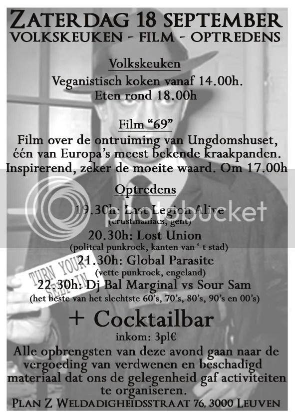 Flyer Plan Z Leuven
