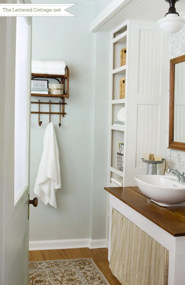 Diy bathrooms imagine your homes for Bathroom ideas cottage style