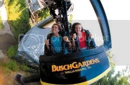 Busch Gardens Williamsburg Roller Coaster