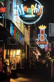 Beale Street image courtesy Memphis CVB