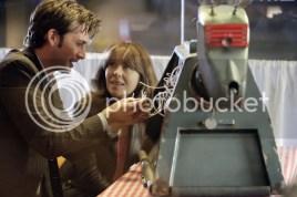 David Tennant and Elizabeth Sladen in Doctor Who. (BBC)