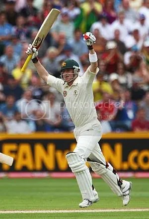 Haddin reaches his first Ashes ton