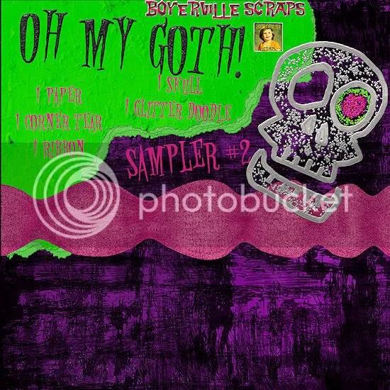 Freebie oh my goth number 2