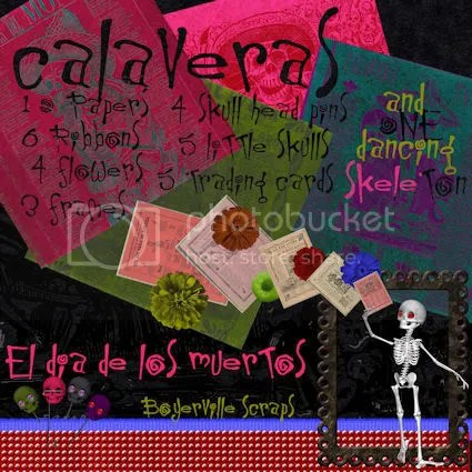 FREEBIE calaveras preview