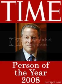 Vote for Al Gore - Time Person of the Year