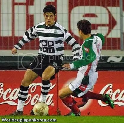 cristiano ronaldo early days on sporting